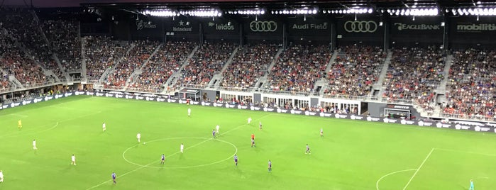 Audi Field is one of Lugares favoritos de Jen.