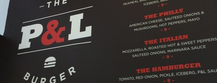 P&L Burger is one of TORONTO.