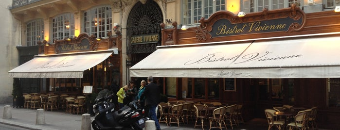 Bistrot Vivienne is one of Paris with kids: sighseeing and dining.