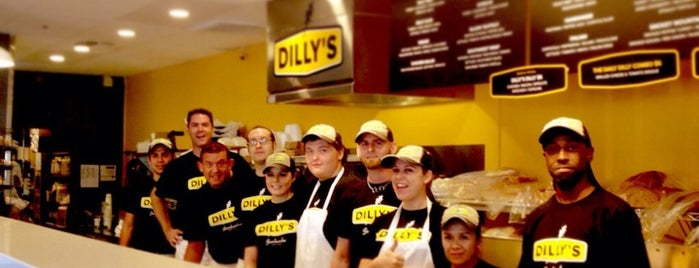 Dilly's Deli is one of Fav.