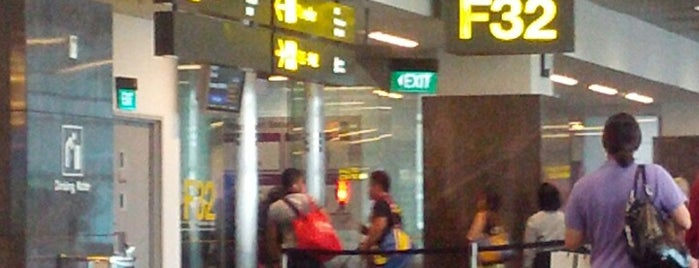 Gate F32 is one of Travel.