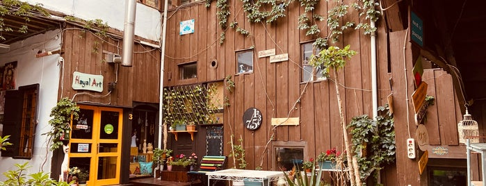 Borges Kafe is one of Cafe Tatlı Kahvaltı Ankara.
