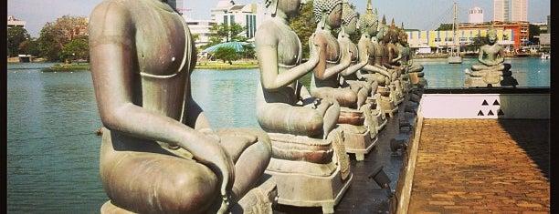 Gangaramaya is one of Colombo.
