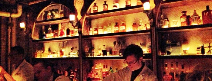 Apothéke is one of Whisky Bars @ NYC & Boston.