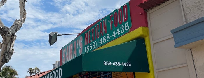 Sara's Mexican Food is one of San Diego.