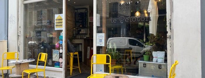 Le Peloton Café is one of Paris.
