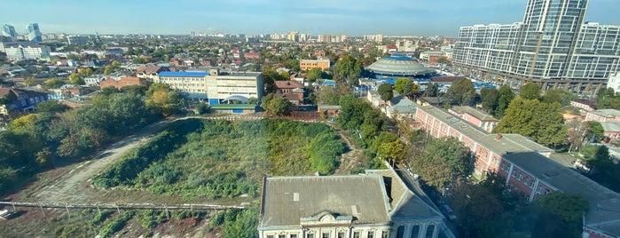 Marriott Hotel Krasnodar is one of Phil 님이 좋아한 장소.