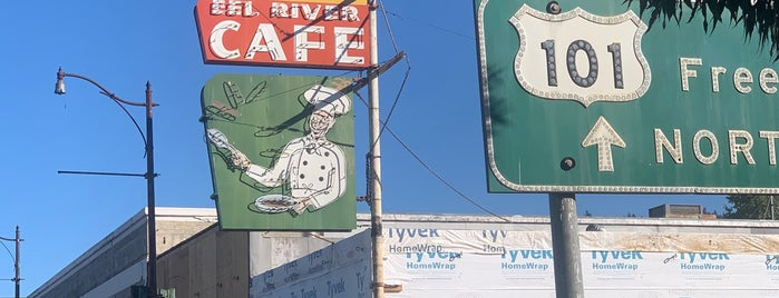 Eel River Cafe is one of Northern CALIFORNIA: Vintage Signs.