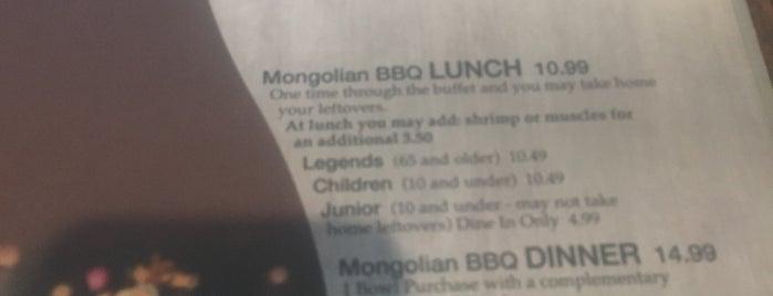 Kahuna's Mongolian BBQ & Sushi is one of Melanie : понравившиеся места.