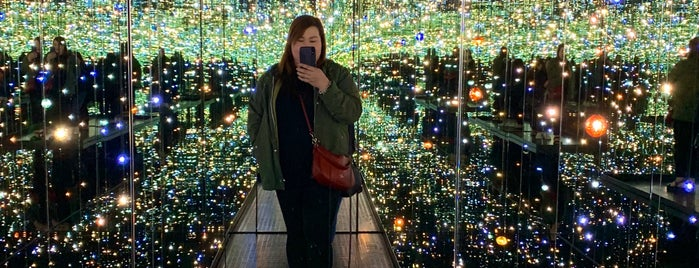 Yayoi Kusama's Infinity Mirrored Room at The Broad is one of USA.