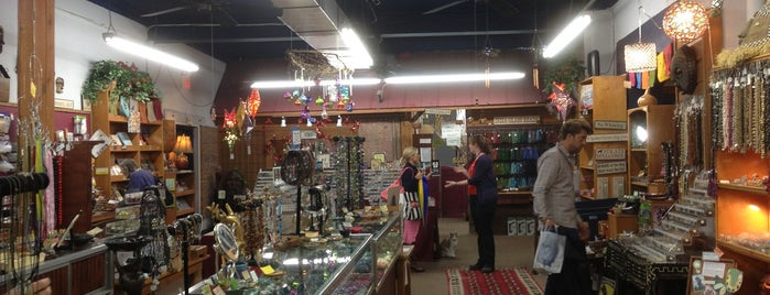 Chevron Trading Post & Bead Co. is one of Asheville.