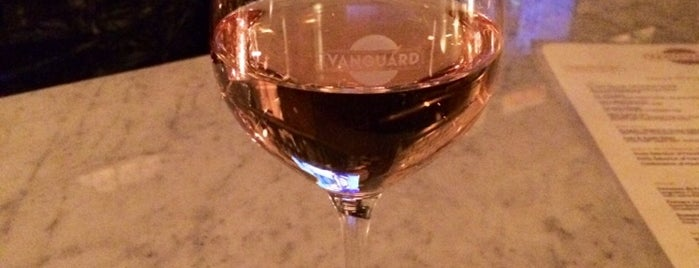 Vanguard Wine Bar is one of Date Night.