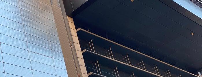 Torre CEPSA is one of Ruta Colorea Madrid por el Skyline de Madrid.