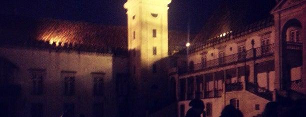 Torre da Universidade de Coimbra is one of Portugal.