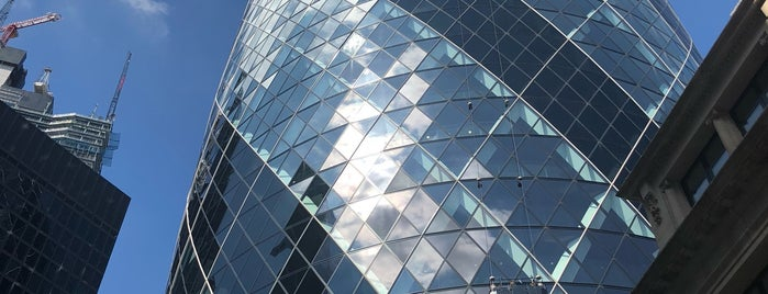 30 St Mary Axe is one of Trips / London.