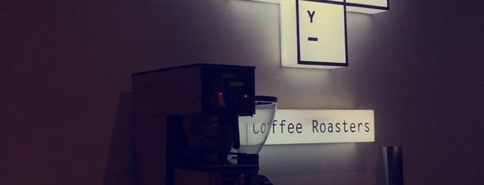 Alchemy Coffee Roasters is one of F.