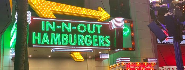 In-N-Out Burger is one of Las vegas.