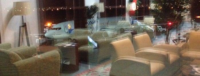 Kayseri Havaalanı CIP Salonu is one of Locais curtidos por Melis.