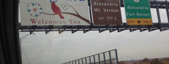 Fairfax County / City of Alexandria Line is one of Alinka : понравившиеся места.