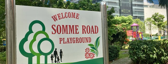 Somme Road Playground is one of Posti salvati di JOY.