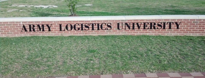 Army Logistics University is one of Latonia's Liked Places.