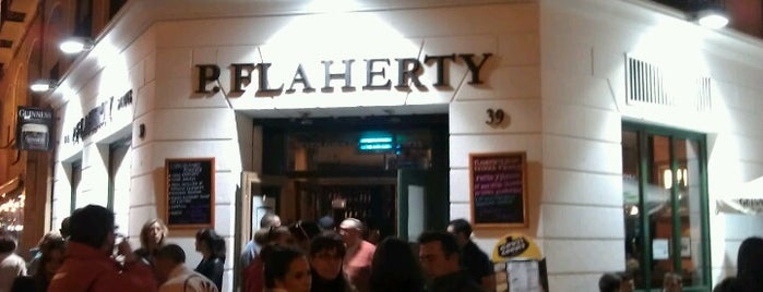 Flaherty's Irish Bar is one of Botellín a euro, oiga.