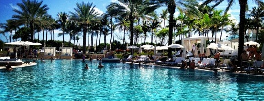 Pool @ Fontainebleau is one of Miami.