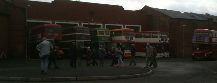 Museum of Transport, Greater Manchester is one of Манчестер.