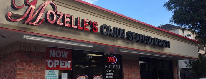 Mozelle's Cajun Seafood Market is one of Jerome Bank.
