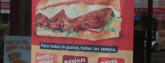 Subway is one of Alejandro'nun Beğendiği Mekanlar.