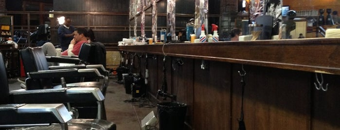 Rudy's Barbershop is one of Lugares favoritos de Victor.