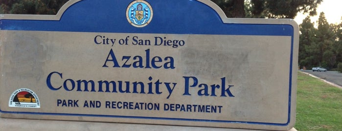 Azalea Community Park is one of Orte, die Sergio M. 🇲🇽🇧🇷🇱🇷 gefallen.