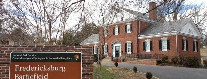 Fredericksburg and Spotsylvania National Military Park is one of Virginia.