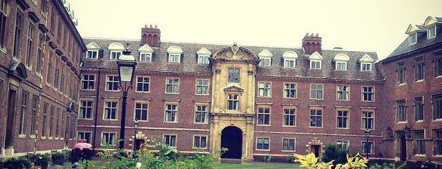 St Catharine's College is one of My places when I lived in Cambridge, UK.