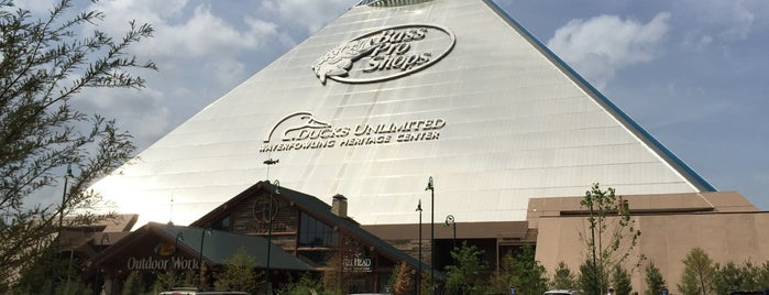 Bass Pro Shops is one of Memphis.