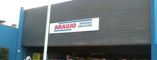Drogaria Araujo is one of Mateusさんのお気に入りスポット.