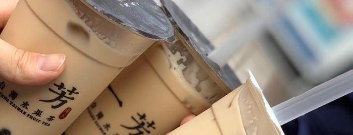 Yifang Taiwan Fruit Tea is one of สถานที่ที่ Hirorie ถูกใจ.