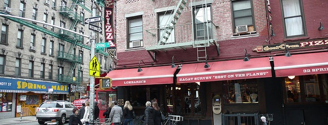 Lombardi's Coal Oven Pizza is one of #NYCmustsee4sq.