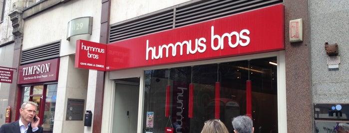 Hummus Bros. is one of Locais curtidos por Natalie.