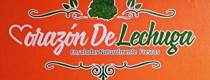 Corazón De Lechuga is one of Karen 🌻🐌🧡'ın Kaydettiği Mekanlar.
