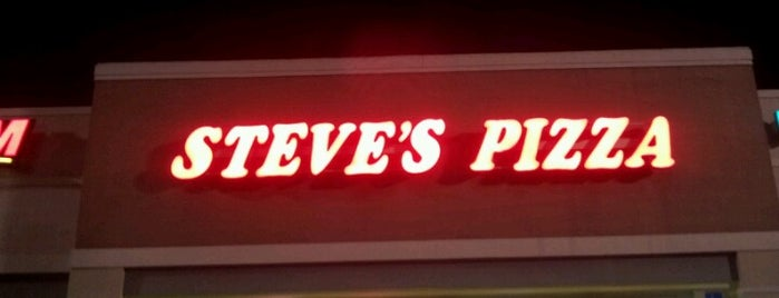 Steve's Pizza West is one of Florida's secrets.