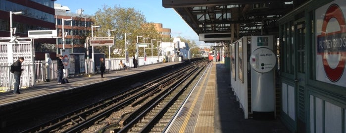 Putney Bridge London Underground Station is one of Went before 2.0.
