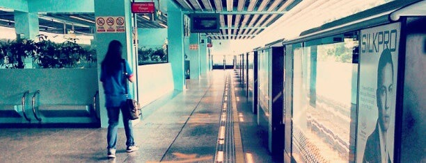 Clementi MRT Station (EW23) is one of Sg.