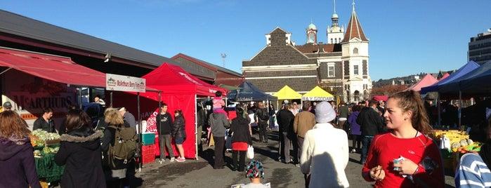 Dunedin Saturday Farmer's Market is one of Jas' favorite urban sites.
