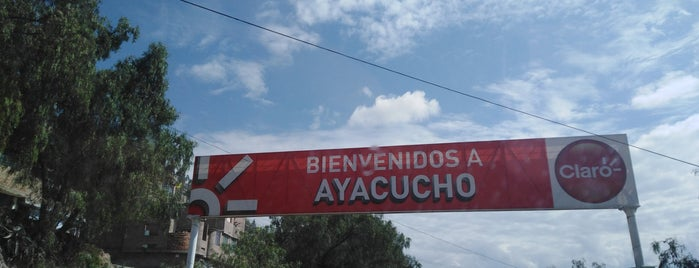 Ayacucho is one of Lieux qui ont plu à Jamhil.