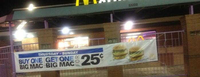 McDonald's is one of Graham : понравившиеся места.