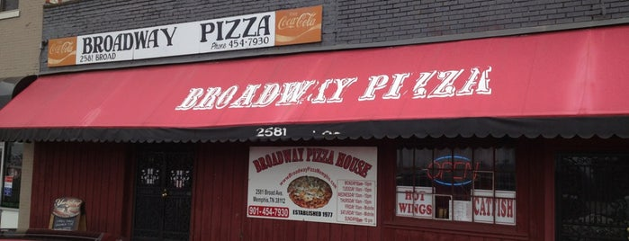 Broadway Pizza is one of Best place in Memphis.