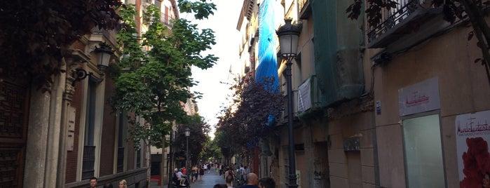 Calle de las Huertas is one of Madrid city guide.