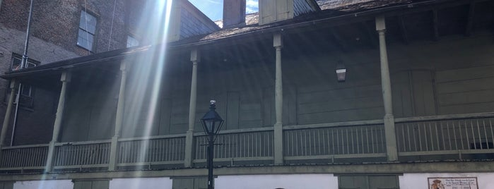Madame John's Legacy is one of New Orleans.