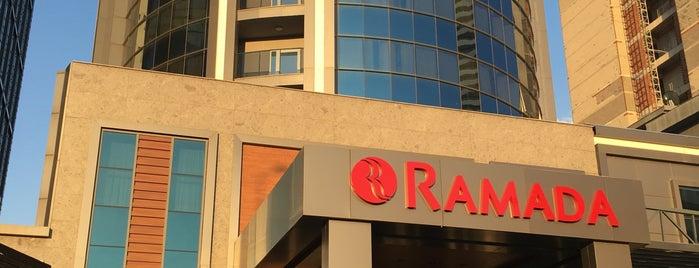 Ramada Bursa Nilüfer Hotel is one of Orte, die Aydın gefallen.